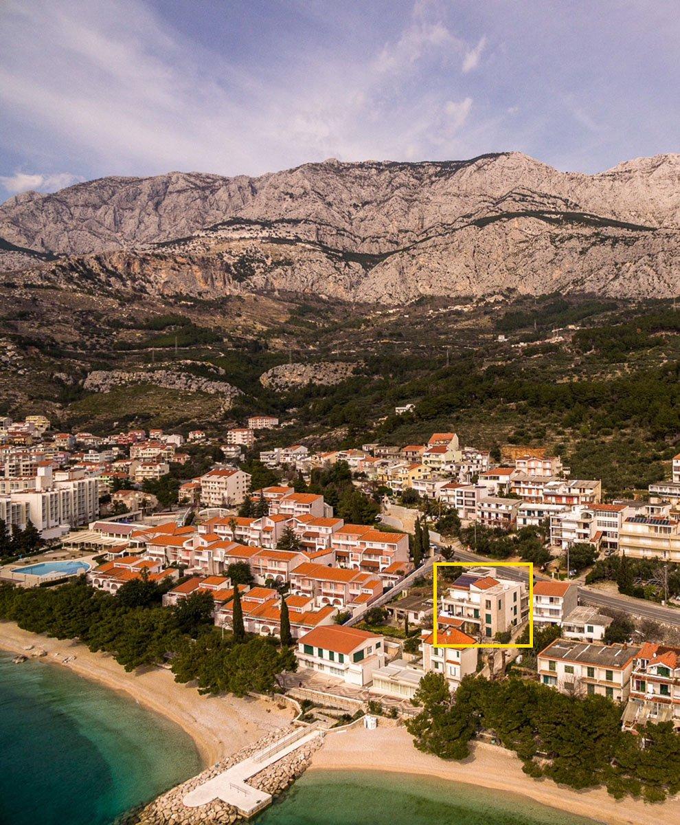 Apartments Luketina Tučepi villa and beach