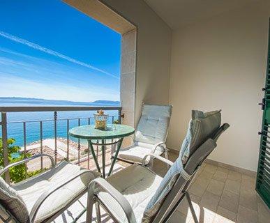 Apartment 8 with sea view Luketina